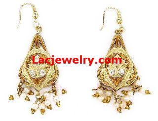 Lac Earrings, Lac Jewelry