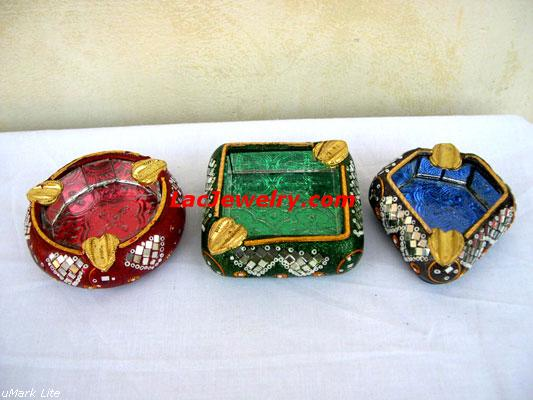 Lac Ashtrays, Lac Handicrafts