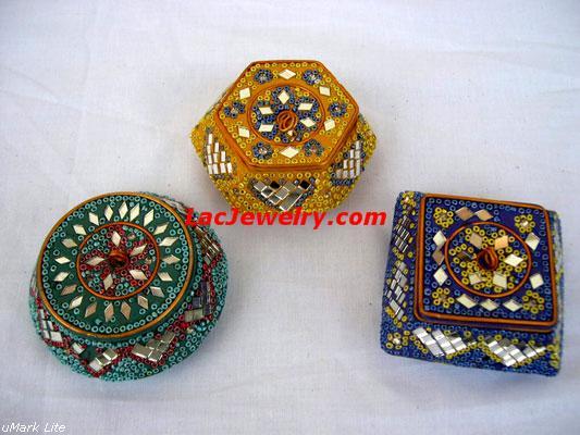 Lac Sindoor Box, Lac Handicrafts