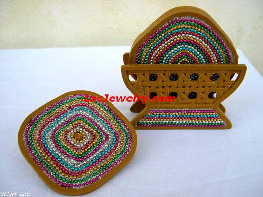 Lac Coasters, Lac Handicrafts