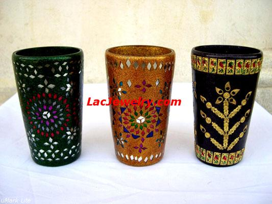 Lac Glasses, Lac Handicrafts