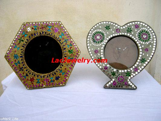 Lac Mirrors, Lac Handicrafts