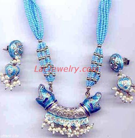 Lac Jewelry, Jewellery Necklace Set