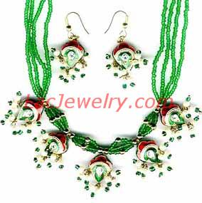 Lac Jewelry, Jewellery Necklace Set